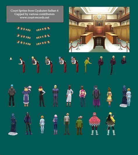 Court Records Sprites Animations