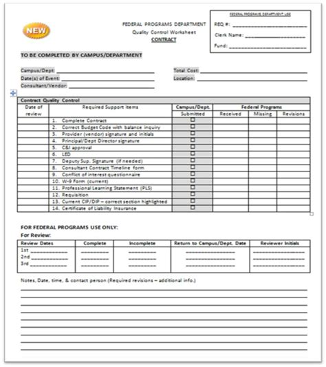 contractor quality plan template quality review form pictures to pin on