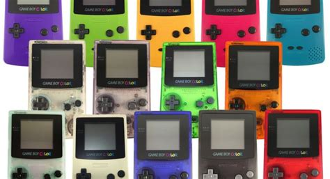 top gameboy color the top 10 boy colour of all time
