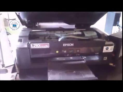 resetter epson l210 series how to reset epson l210 l110 l300 l350 l355 fix red