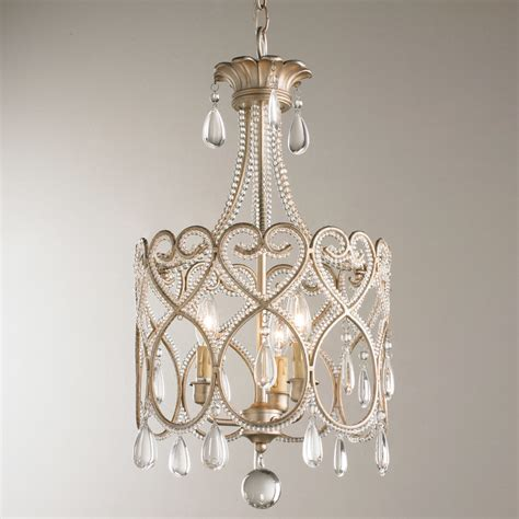 mini kronleuchter joli scrolls mini chandelier shades of light