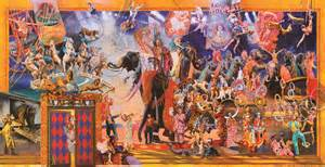Family The Greatest Show On Earth by Radiosrq The Greatest Show On Earth Mural Unveiling