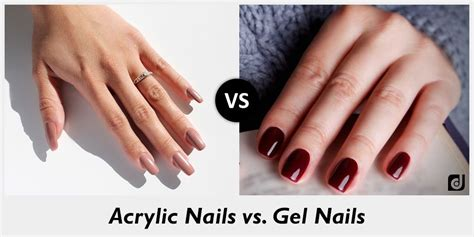 Gel Acrylic Nails by Difference Between Acrylic Nails And Gel Nails