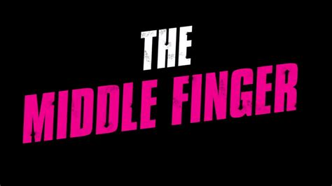 Middle Finger Cover Photo