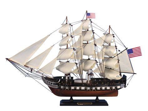 old boat models buy wooden uss constitution tall model ship 24 inch