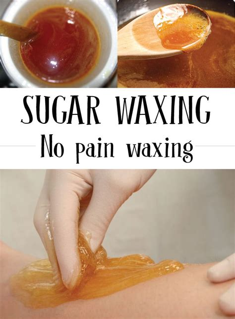 sugar waxing diy 9 best website images on mapping
