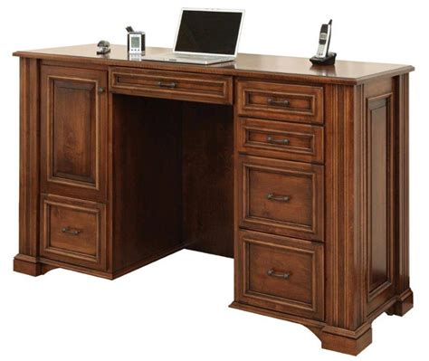 standing office desk furniture lincoln standing desk from dutchcrafters amish furniture