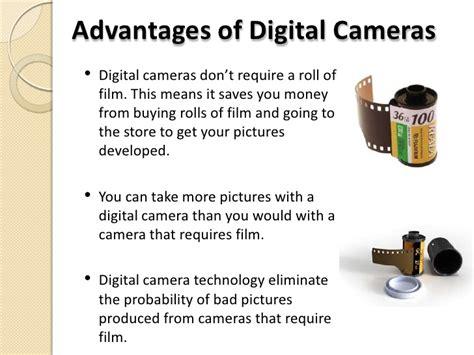 Benefits Of Digital Cameras digital technology