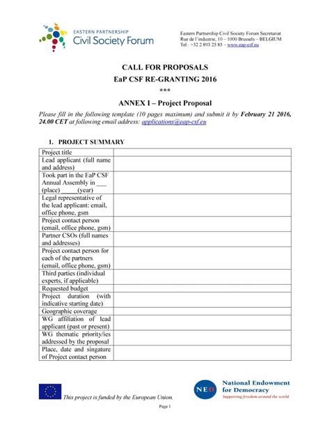 proposal layout template 43 professional project proposal templates template lab