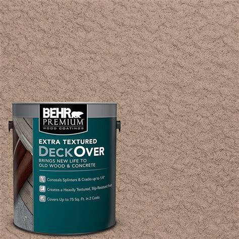 home depot paint for concrete behr premium deckover 1 gal wood and concrete coating