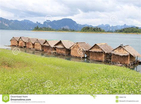 Raft Cabins by Raft Stock Photography Image 33865792