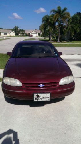 how to learn about cars 1996 chevrolet lumina electronic throttle control buy used 1996 chevy lumina in boca raton florida united states for us 1 750 00