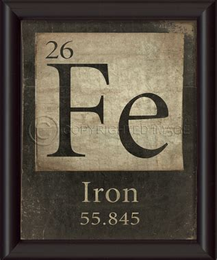Fe Periodic Table by Langley S Emporium Pty Ltd Sciences Elements