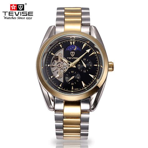 tevise new fashion mens watches top brand luxury