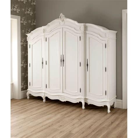 White Style Wardrobe - la rochelle antique wardrobe working well alongside