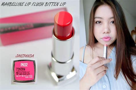 Maybelline Lip Flush review เป นนางเอกซ ร ย เกาหล ได ง ายๆ ด วยล ป 3