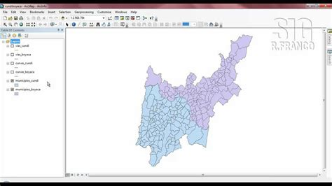 tutorial for arcgis 10 tutorial arcgis 10 capitulo 4 06 geoprocesamiento merge