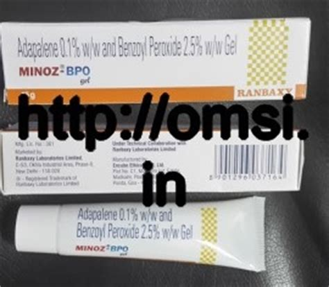 Bpo Gel 2 5 By Maymay Store minoz bpo gel 15g ranbaxy store delhi india