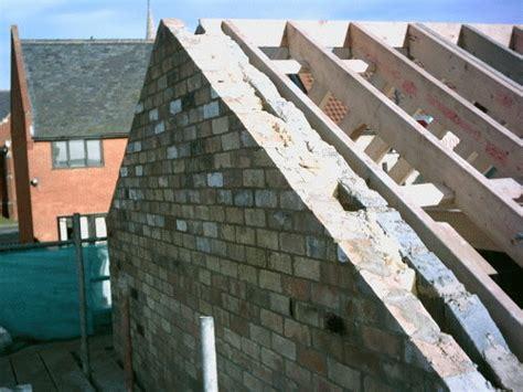 gable end b br unwin brickwork building contractors