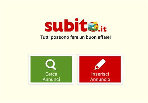 www subito it subito it per iphone