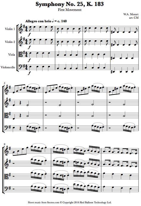 mozart a documentary biography pdf wolfgang amadeus mozart symphony no 25 k 183 1st mvt