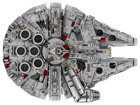 best lego millenium falcon the new 7 541 lego millennium falcon is the