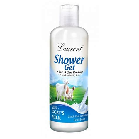 shower gel goat milk 250ml laurent cosmetics