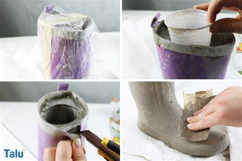 beton nachträglich wasserdicht machen basteln mit beton deko aus beton kreative ideen talu de