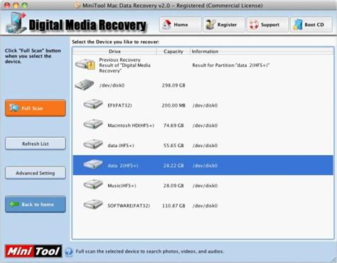 full data recovery software mac the best mac data recovery software minitool mac data