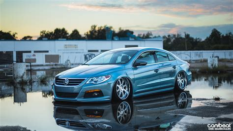 stanced volkswagen stanced volkswagen passat cc r line is a vip beauty