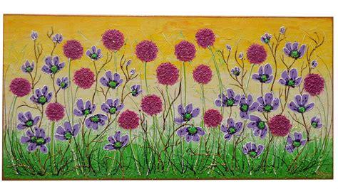 fiori astratti pittura fiori in primavera vendita quadri quadri