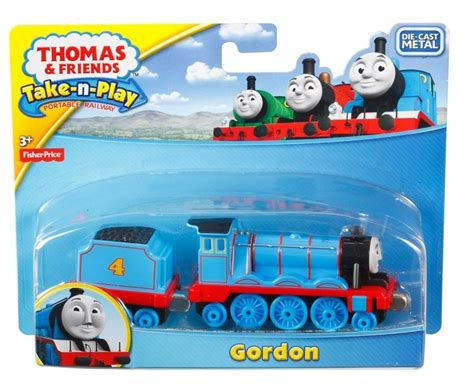 Fisher Price And Friend Seri Hiro fisher price friends take n play gordon die cast engine magnet new ebay