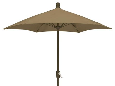 wind resistant patio umbrella fiberbuilt umbrellas 7 5 ft wind resistant patio umbrella
