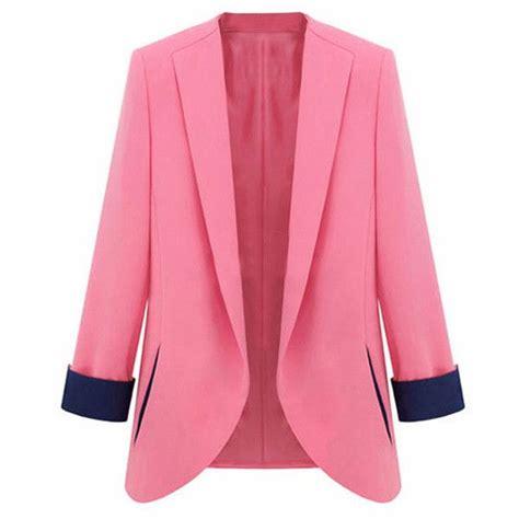 light pink plus size blazer pink jacket blazer jackets review