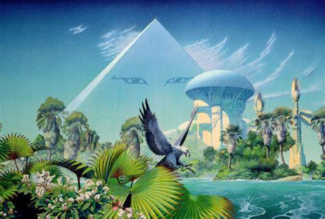 Architecte Anglais Connu by Paysages De Science Fiction De Roger Dean