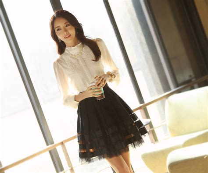 Atasan Adict pin baju korea model murah on