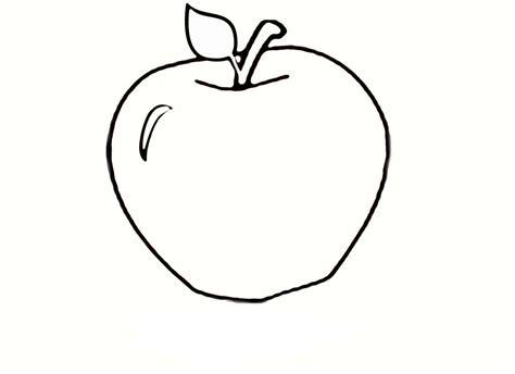 imagenes para colorear manzana dibujos para colorear de frutas imprimir y pintar