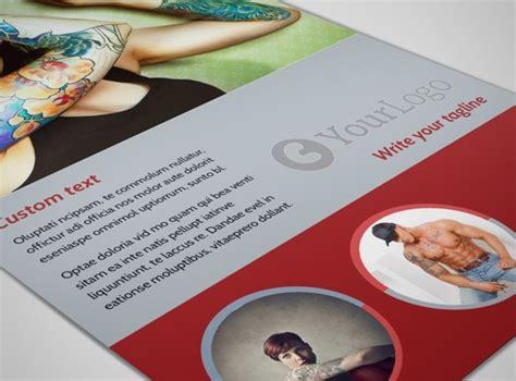 tattoo flyer maker tattoo shop flyer template