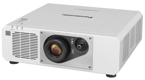 In Projector panasonic pt rz570wu 5000 lumens wuxga 1 chip dlp projector in white compass