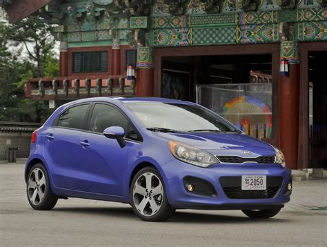kia rio green light  fuel saving stop start option