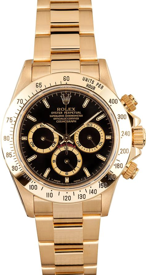 Rolex Daytona Gold rolex daytona gold 16528 x save at bob s watches