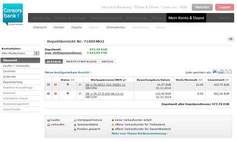 dab bank tradingcenter consorsbank test und erfahrungen finanzen net