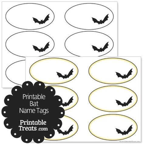 printable ghost name tags 17 best images about halloween printables on pinterest