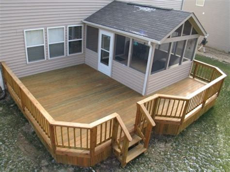 home deck plans deck designs designs for screened in porches with deck