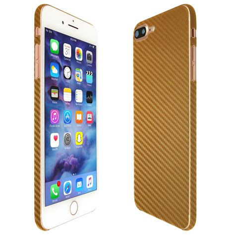 apple iphone 7 plus techskin gold carbon fiber skin 5 5 quot