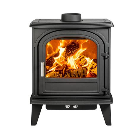 Cast Iron Fireplace Paint by Cleanburn Nordstrand 5 Cast Iron Wood Burning Stove Black Paint 4 9kw Nominal 4 Gt 8 Kw