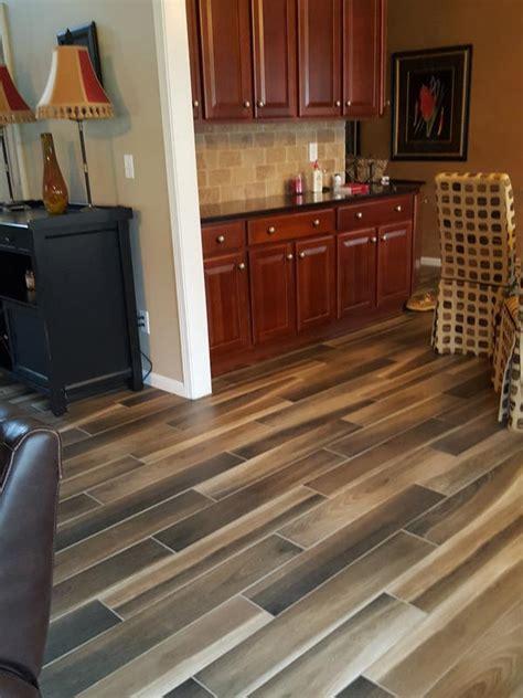 36quot x 6quot brindle wood natural porcelain tile avella