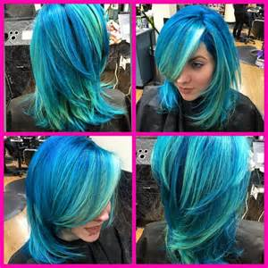 aquamarine hair color aquamarine hair colors ideas