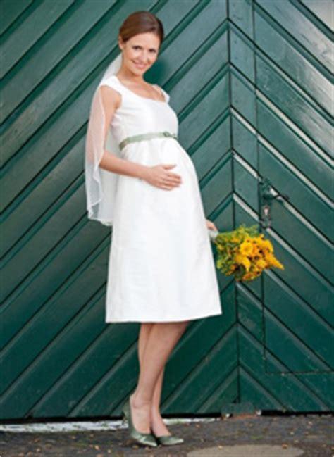 Hochzeit 7 Monat Schwanger by Sch 246 Ne Hochzeitskleider F 252 R Schwangere Urbia De