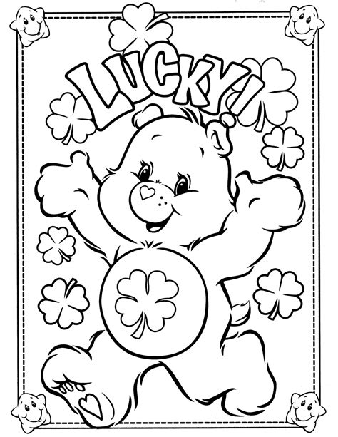 print out share this printable lion coloring pages online care bears 6 coloringcolor com
